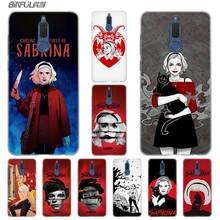 BINFUL Fashion Transparent hard phone case cover for Huawei Mate 7 8 9 S 10 20 Pro Lite X Chilling Adventures Sabrina