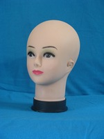 4PCS Lot Super Quality Female Mannequin Head Model Wig Hat Jewelry Display Cosmetology Manikin