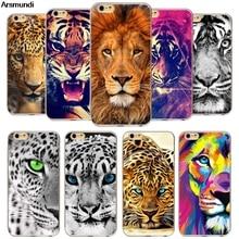Arsmundi font b 2018 b font New Animal Tiger Lion Phone Cases for font b iPhone