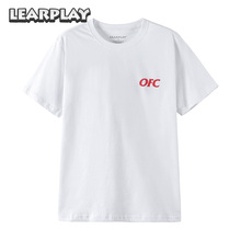 Jake Paul Ohio Fried Chicken T-Shirt White Summer Mens Letter Tee Shirt Adults Tops