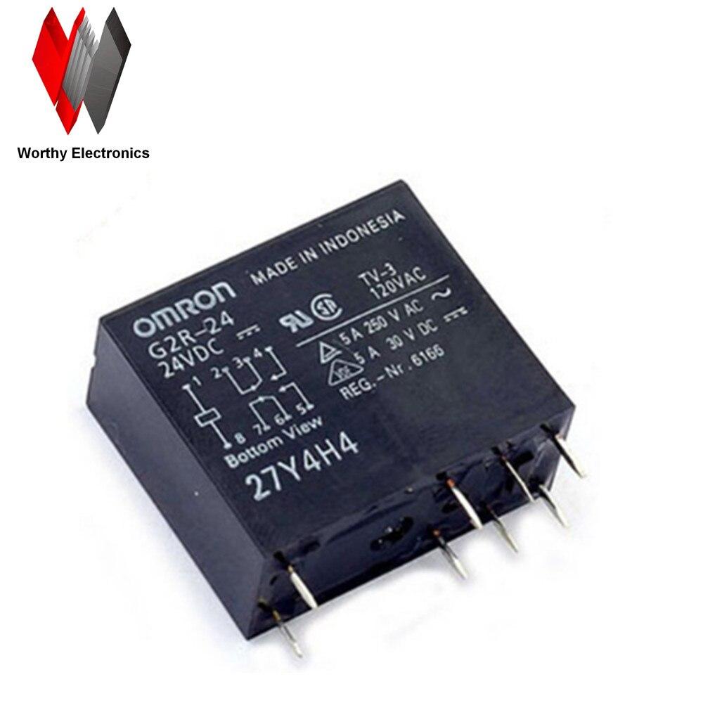 wholesale 10pcs lot relay G2R 24 24VDC