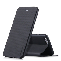 Pipilu High Quality Breathing Phone Case For Iphone 6 6s 7 Case PU Leather Case For