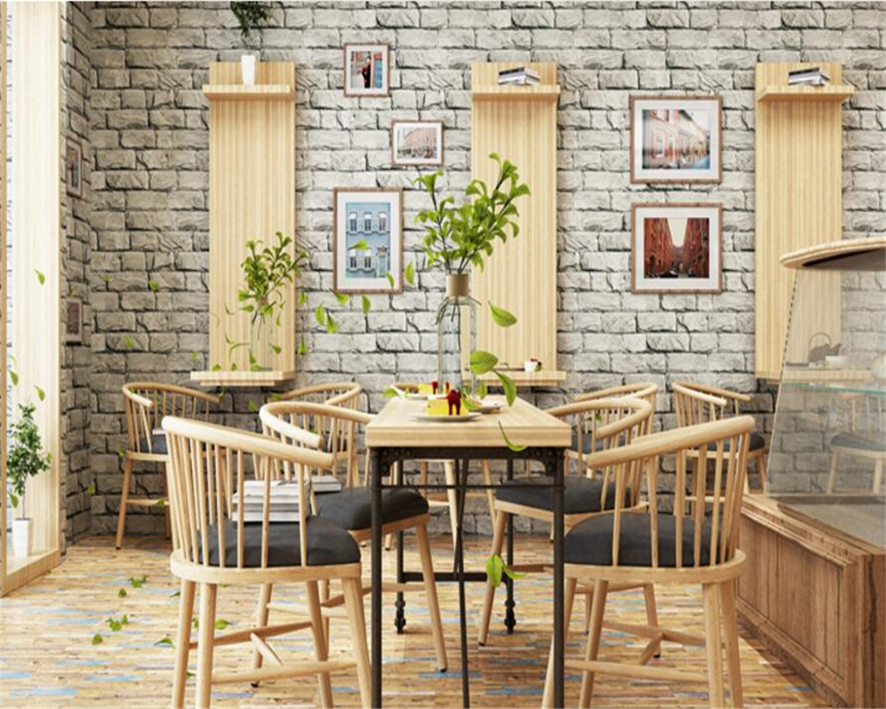 beibehang Classic PVC brick wall 3d wallpaper clothing store hotel background wall imitation brick wallpaper papel de parede beibehang Classic PVC brick wall 3d wallpaper clothing store hotel background wall imitation brick wallpaper papel de parede