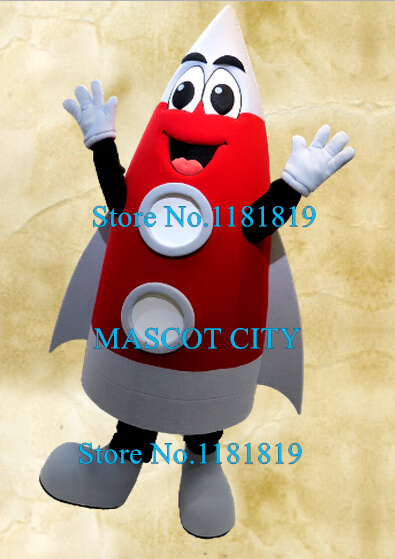 954e8fd4e1533 US $304.0 5% OFF|MASCOT happy red rocket mascot costume adcult cartoon  aerospace theme anime cosplay costumes mascotte fancy dress kits-in Mascot  from ...