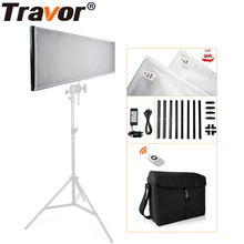 Travor FL 3090 1x3 30*90cm Flexible LED Fabric Light 576pcs LEDs 5500K Dimmable Photography Light with 2.4G remote and bag