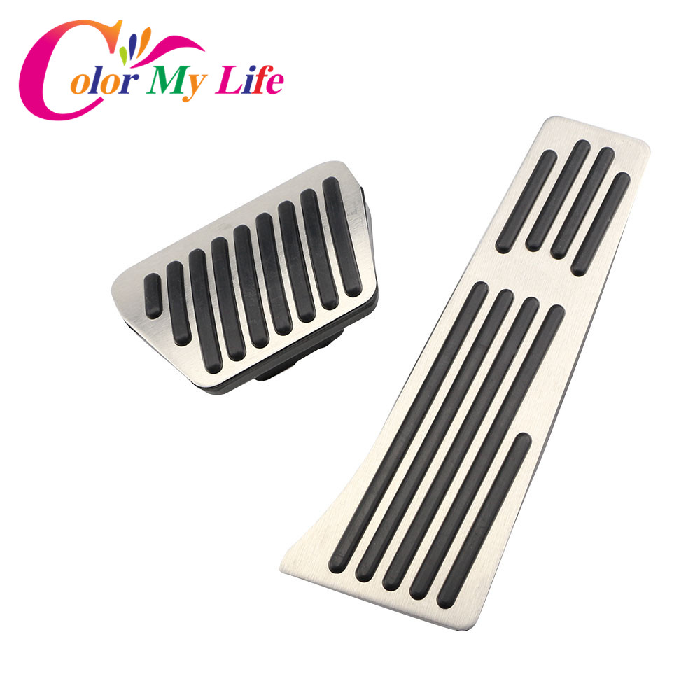 Color My Life Gas Brake Pedal For BMW 1 3 4 5 6 Series F20 F30 F31 F32 F33 F34 F36 X1 X3 X4 X5 X6 F20 F30 E34 E39 E70 E71 E90 цена