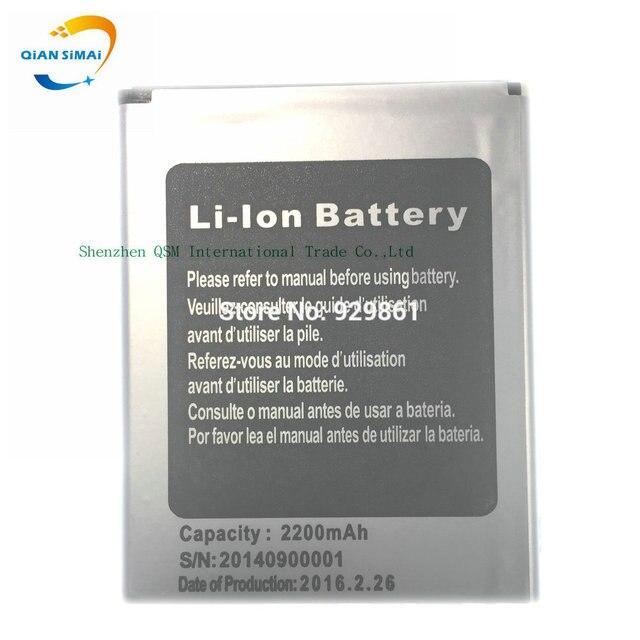 QiAN SiMAi CUBOT X6 Battery 100% New Original 2200mAh Li-ion Backup Battery for CUBOT X6 Cell Phone -In Stock+Track Code