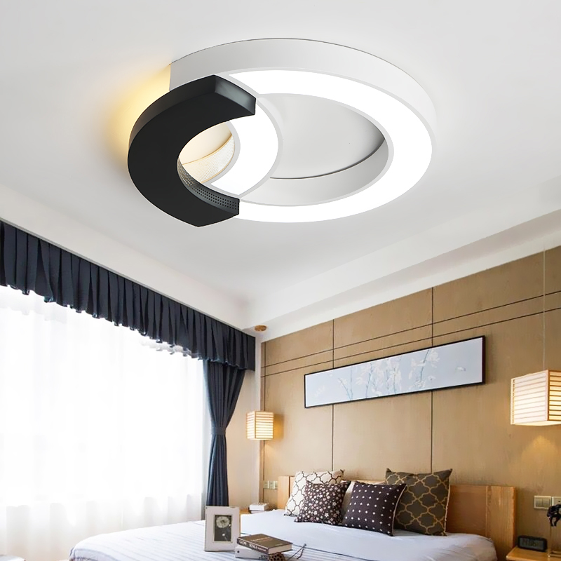 Modern Led Ceiling Lights for living room bedroom home simple black&white decoration ceiling lighting fixtures lampra de techo modern led ceiling lights for home lighting plafon led ceiling lamp fixture for living room bedroom dining lamparas de techo