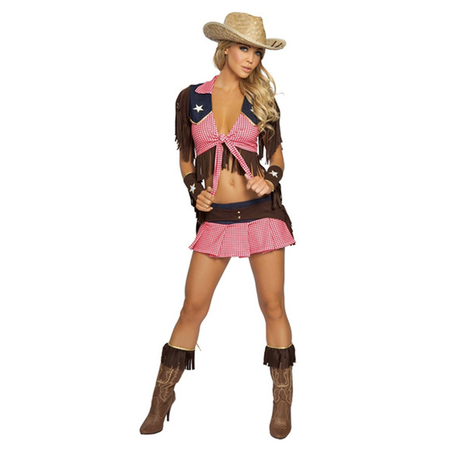 Aliexpress.com : Buy 2016 New Pink Country Cowgirl Adult Outfit ...