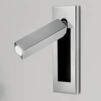 Topoch Nordic Wall Sconces 3W LED Lamp Tilts Rotates Muti Finishes Auto On/Off When Opens/Closes for Bedroom Foyer Corridor