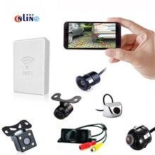 Conexão WI-FI do telefone Móvel Universal Carro Assistência de Estacionamento À Prova D' Água Câmera de Visão Traseira Do Carro Vista Da Câmera E WI-FI transmissor