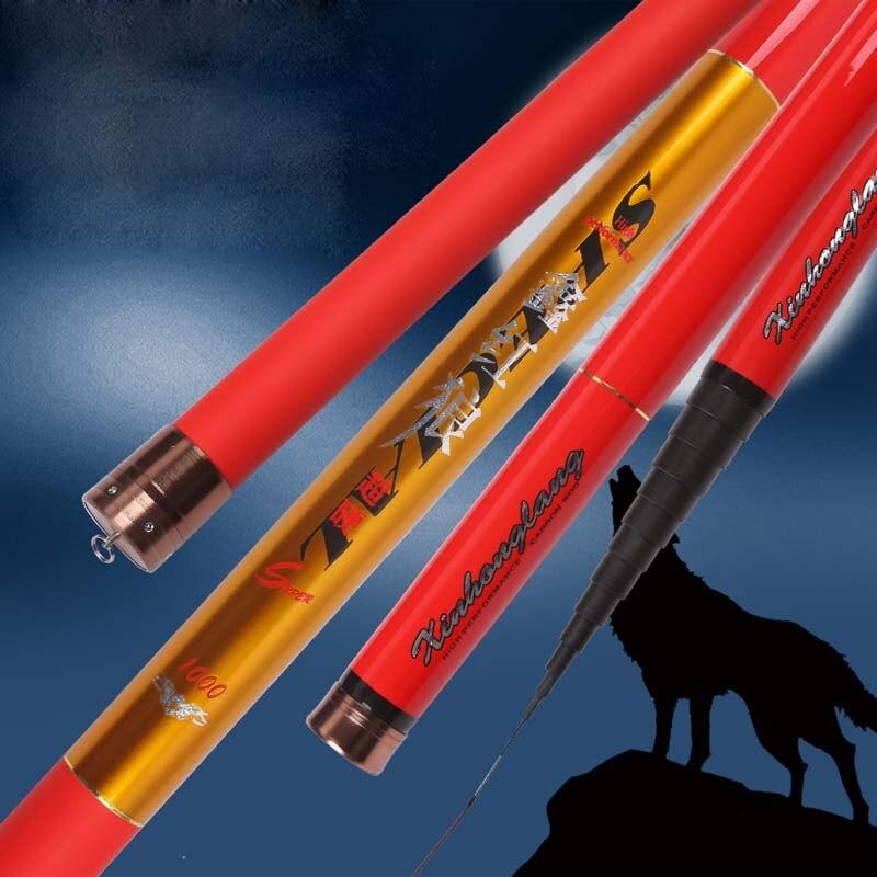 8M 9M 10M 11M 12M 13M Overlength Carp Fishing Pole Stream Hand Rod Telescopic Fishing Rod