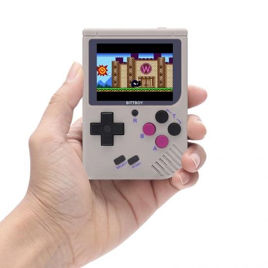 ビデオゲームコンソールBittBoyバージョン3レトロゲームハンドヘルドゲームコンソールプレーヤー進行状況保存/読み込みMicroSDビルドイン8GB coolbaby ldkゲーム