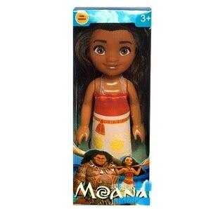 Image 4 - 12 pz/set nuovo film Moana Doll Toy princess Dress action figure giocattoli Moana boneca doll compleanno regalo di natale forniture per feste