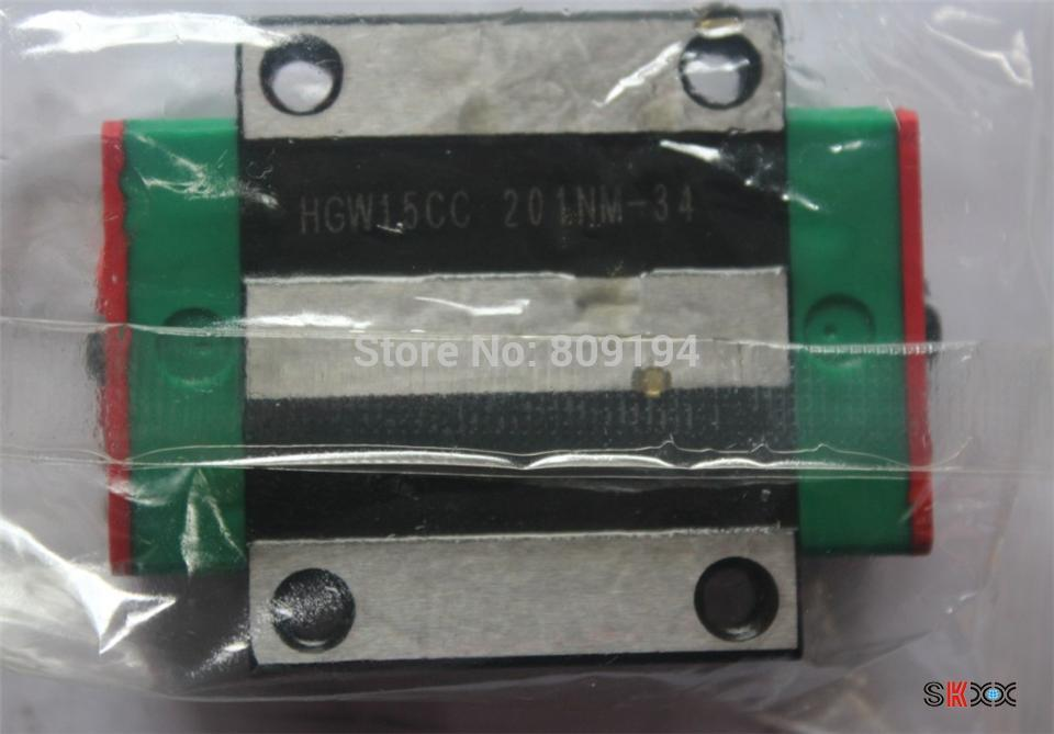 8pcs CNC HIWIN HGW15C Block linear guide