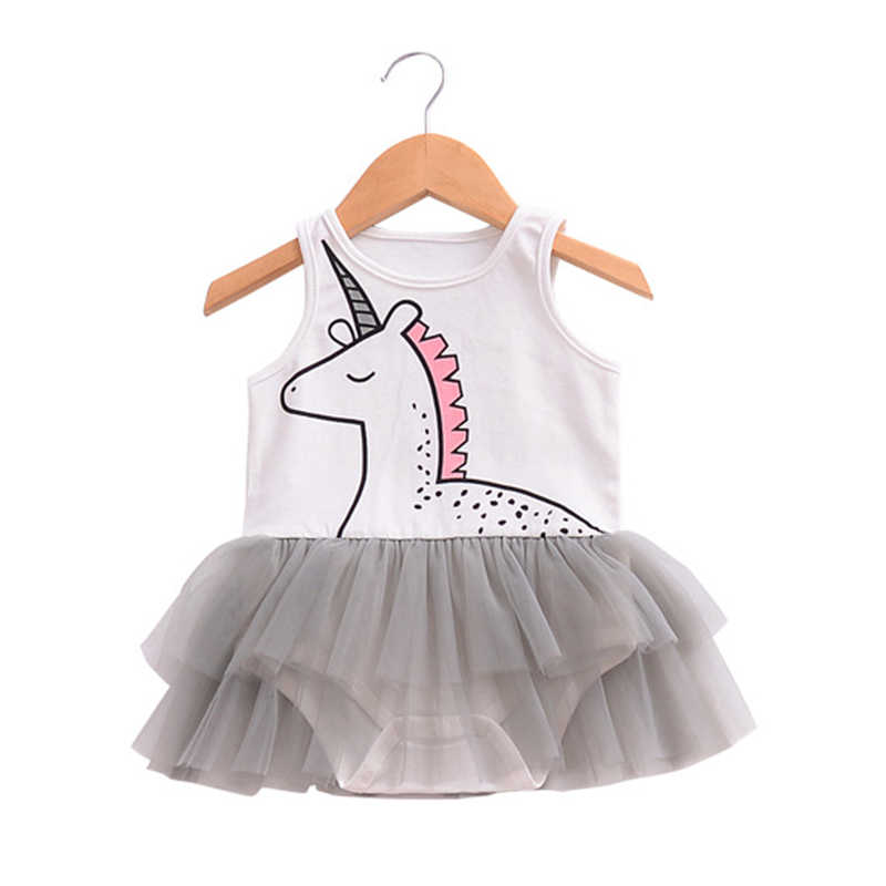Bebe/Одежда для девочек с принтом Летний комбинезон рюшами сетчатый хлопковый