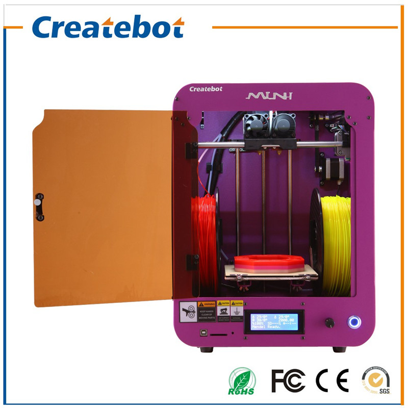 Createbot- Mini 3D Printer with Heatbed, LCD Screen ,Single-extruder 3D Printer