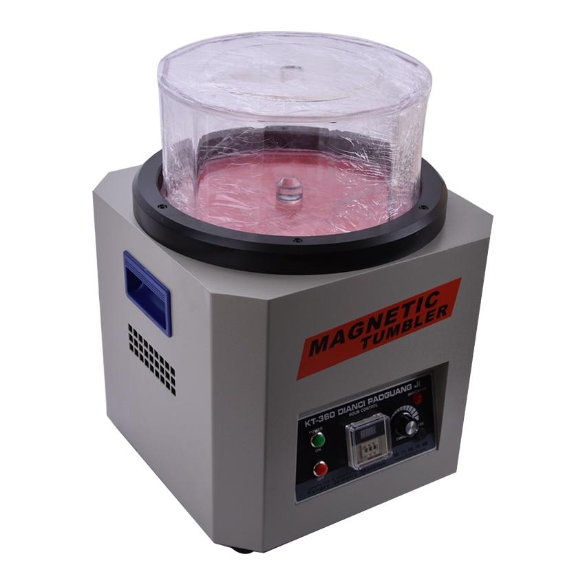 Fordított mágneses dobozos KT-360A 110V / 220V ékszer-polírozó - Elektromos kéziszerszámok - Fénykép 3