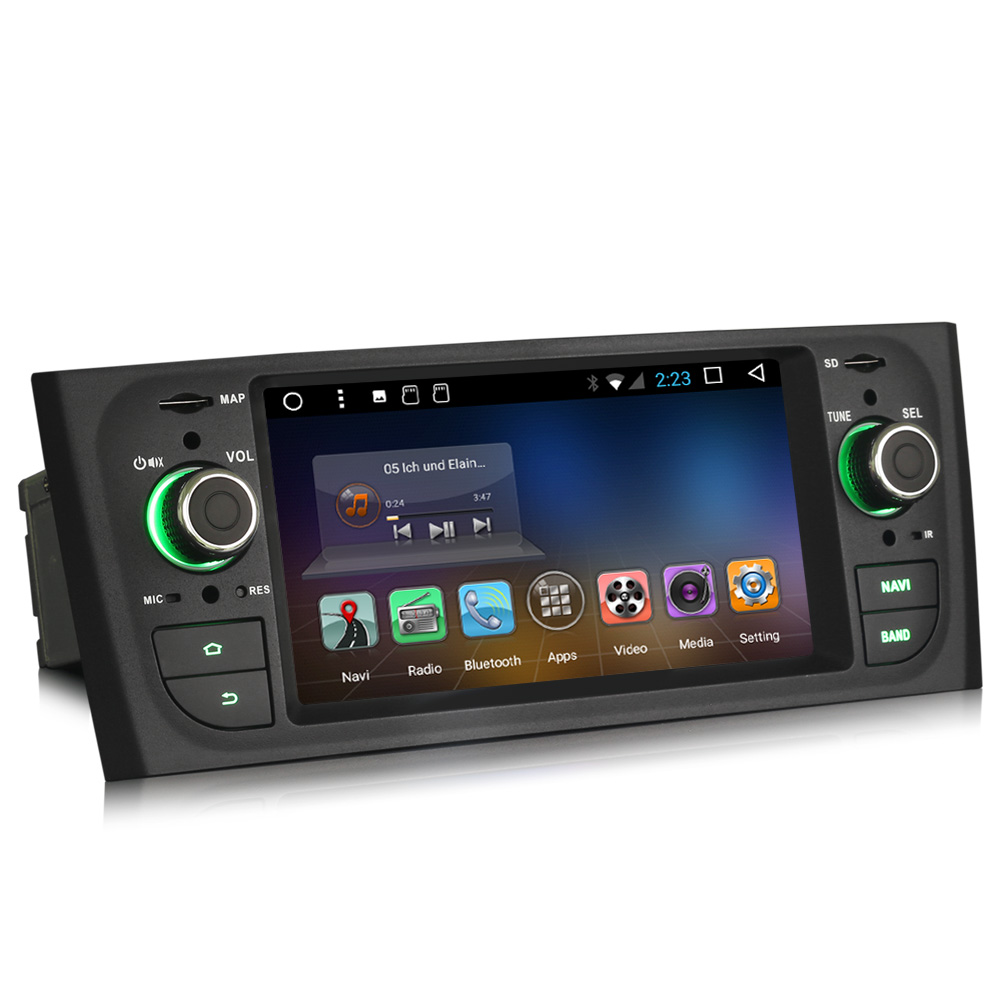 android 7 1 autoradio radio gps navi dab lcd obd rds. Black Bedroom Furniture Sets. Home Design Ideas