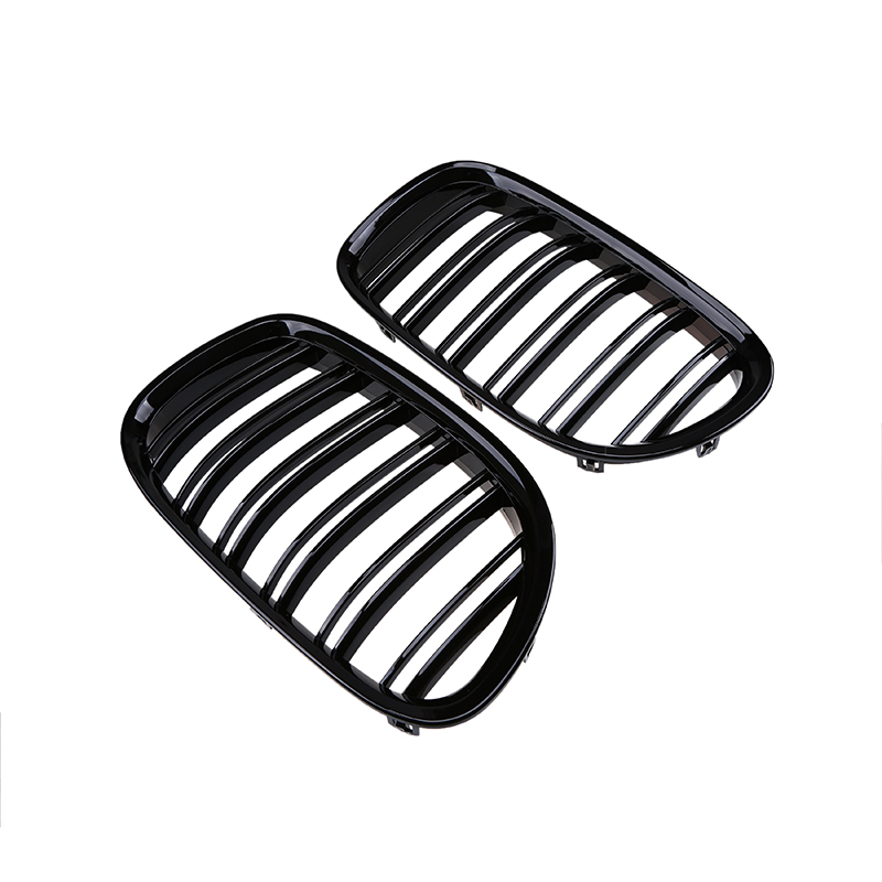 POSSBAY Front Kidney Grille Grill Gloss Black/Matte Black Racing Grills for BMW 7 Series F01/F02/F03/F04 2009 2012 Pre facelift-in Racing Grills from Automobiles & Motorcycles    3
