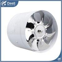 good working new for Duct blower powerful mute axial flow fan ventilator kitchen toilet wall 6 inch 150 mm Exhaust fan