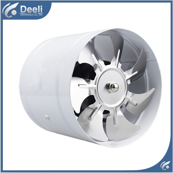 good working new for Duct blower powerful mute axial flow fan ventilator kitchen toilet wall 6 inch 150 mm Exhaust fan все цены