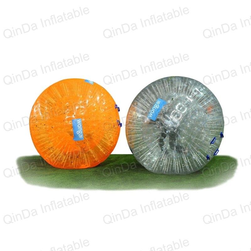 Aqua zorbing boule gonflable zorb boule de hamster humain pour adulte