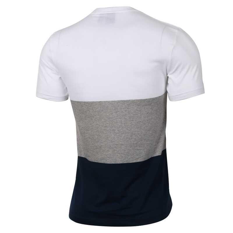 オリジナル新到着アディダスオリジナルパネル舌 TE 男性の Tシャツ半袖スポーツウェア