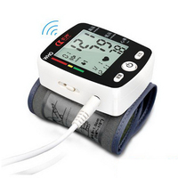 170824 Wrist Type High Blood Pressure Meter Electronic Blood Pressure Measuring Instrument Elderly Automatic Device