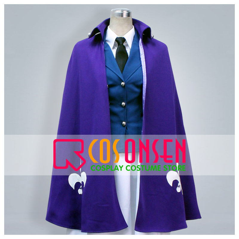 COSPLAYONSEN Axis Powers Hetalia Nyotalia France Cosplay Costume Full Set With Cloak All Size