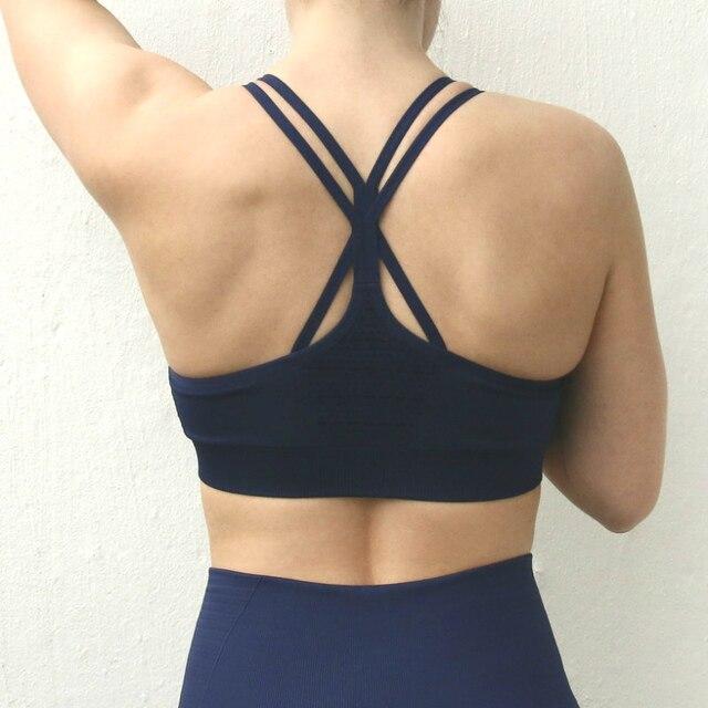 b0330e9990 Nepoagym Women Energy Seamless Bra Workout Tops Fitness Yoga Bra-in ...
