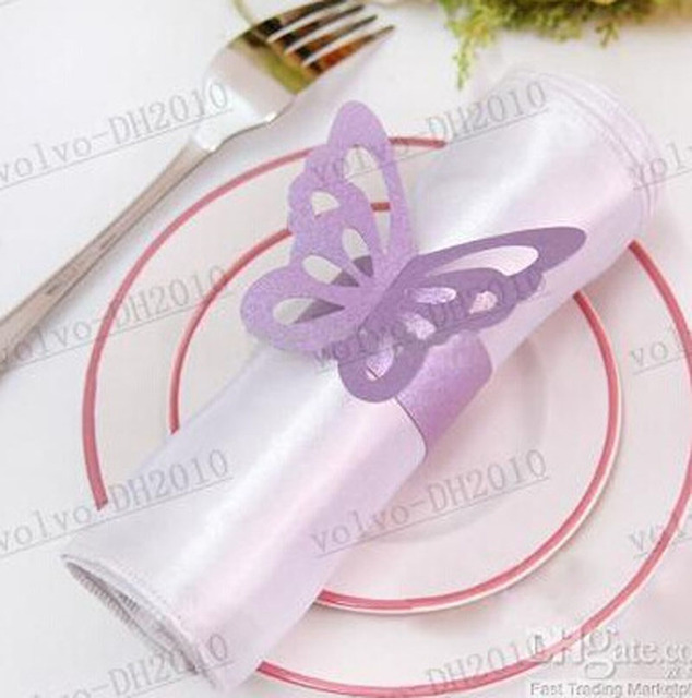Wholesale 300pcsset paper butterfly card napkin ring napkin buckle wholesale 300pcsset paper butterfly card napkin ring napkin buckle hotel wedding supplies european style junglespirit Choice Image