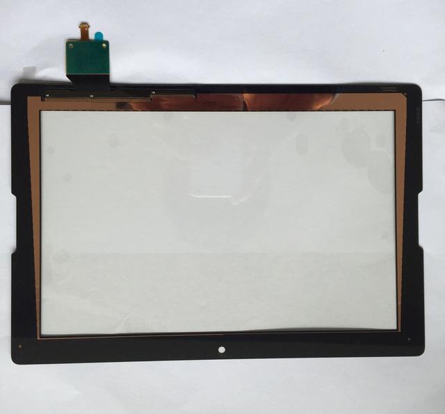 Guia completo novo para lenovo a7600-f a7600 a10-70 tela sensível ao toque de substituição do painel de toque digitador touch sensor de vidro peças de reparo da lente