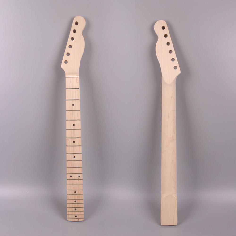 Musical Instruments Stringed Instruments New Fashion Electric Guitar Neck 21fret 25.5inch Canada Maple Unfinished Pleasant To The Palate