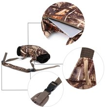 Antifreeze Camouflage Hand Warmer Muff Fleeces Suede Handwarmers Soft Hunting Gun Accessories Warm Camp Hunting Fly Fishing Gear