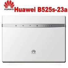 Lot of 10pcs Huawei B525s-23a 4G LTE Cat6 Wireless Router with 2pcs antenna WiFi gateway