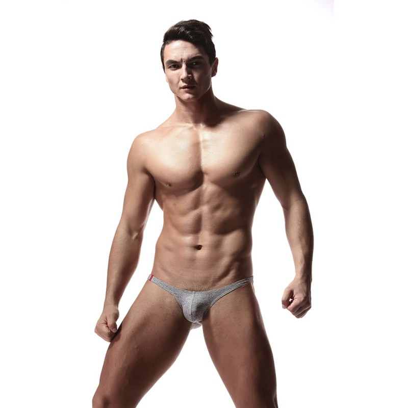 Fashion Soft Breathable Briefs Sexy Men's Underwear Men Hot Hips Up Low Waist Men Solid Underwear Jockstrap Undies Cueca