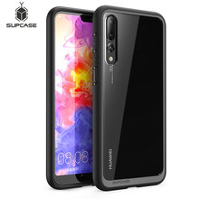SUPCASE For Huawei P20 Pro Case UB Style Series Anti knock Premium Hybrid Protective TPU Bumper + PC Clear Back Cover Case
