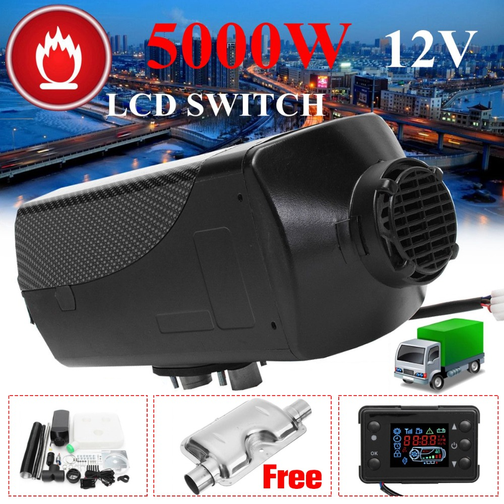 все цены на Car Heater 5KW 12V Air Diesels Heater Parking Heater With Remote Control LCD Monitor for RV, Motorhome Trailer, Trucks, Boats онлайн