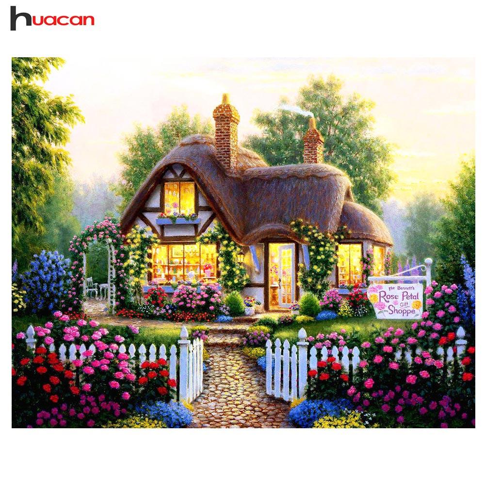 Home Design 3d Outdoor Garden On The App Store: Full Square Diamonds 5D DIY Diamond Painting Scenic