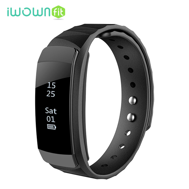 P One Smart Wristband Band Pometer Heart Rate Monitor Notification For Ios Android Phone