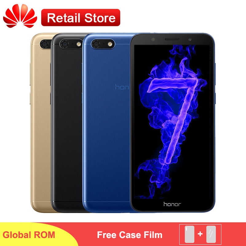 Global Firmware Honor 7S 7 Play Phone 5 45 Fullview MT6739 Quad Core Android 8 1