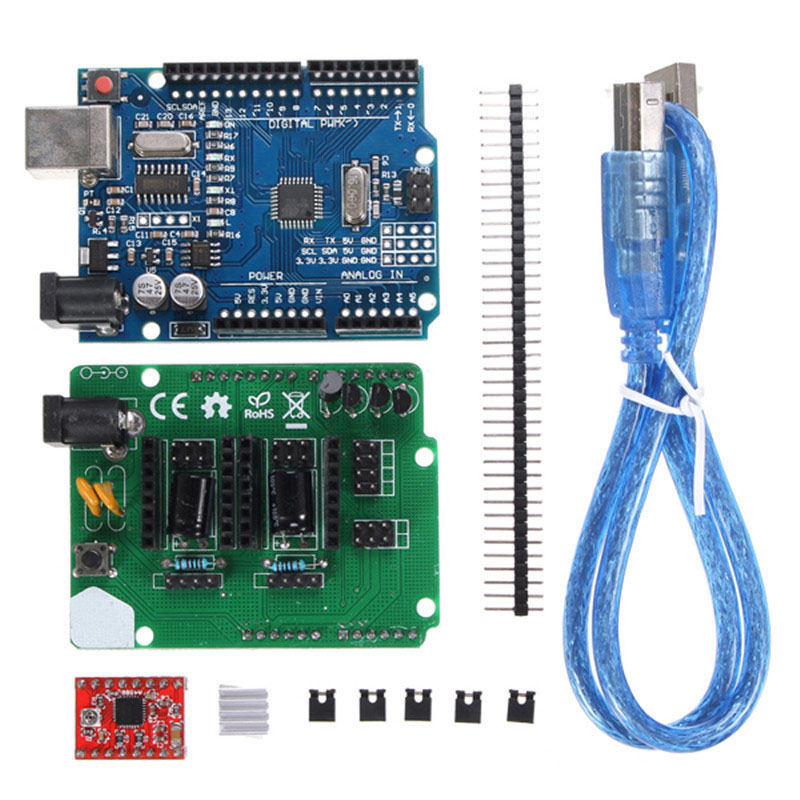 3D Printer Parts For Ciclop 3d Scanner Open Source DIY Accessories, For UNO controller and for ZUM S
