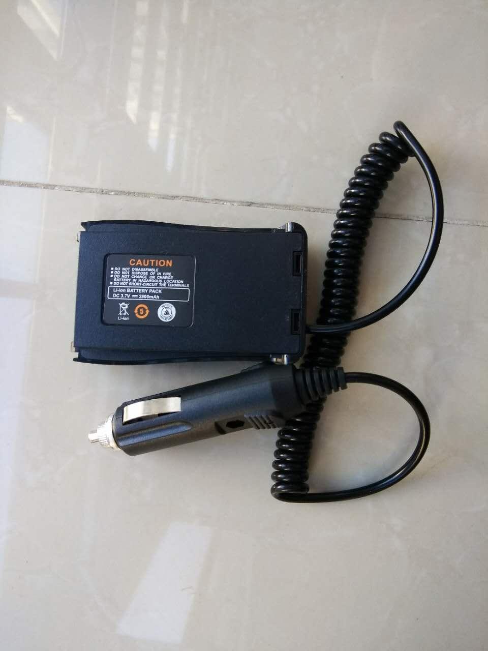 Image 2 - Baofeng 888S walkie talkie eliminator car charger Battery Case Eliminator Baofeng bf 888s Car Charger For BF 888S H 777 H777 666-in Walkie Talkie from Cellphones & Telecommunications