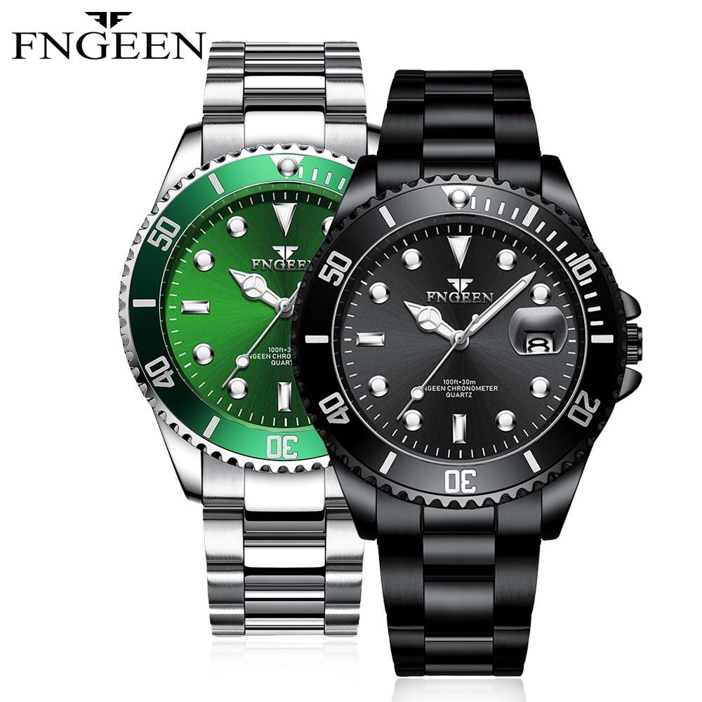 FNGEEN New SALE Watches Men quartz Top Brand Male Sports army Watch Waterproof Relogio Masculino WristWatch
