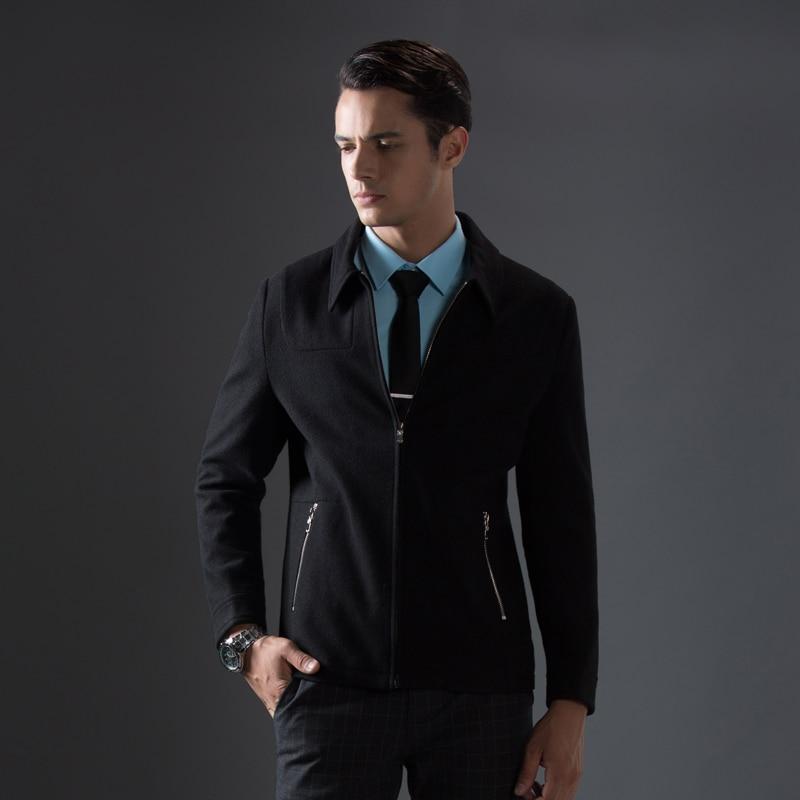 Heißer Verkauf Herbst und Winter Mantel Männer Halten Warme Beiläufige Geschäfts Jacke Komfortable Outwear Windschutz Mode Herren Marke Mantel-in Jacken aus Herrenbekleidung bei  Gruppe 2