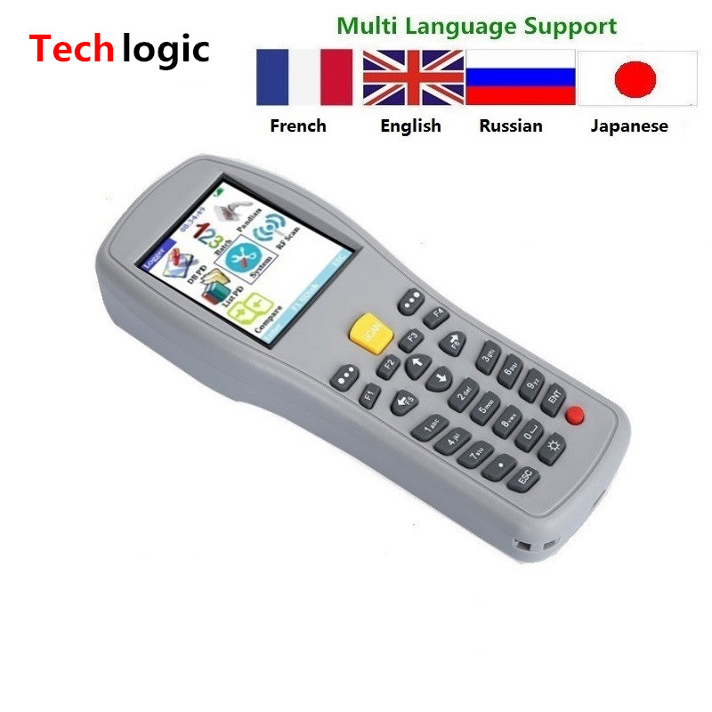 Techlogic X5 Portable Barkod skaneri Simsiz ştrix kod Silahlı Əl - Ofis elektronikası - Fotoqrafiya 2