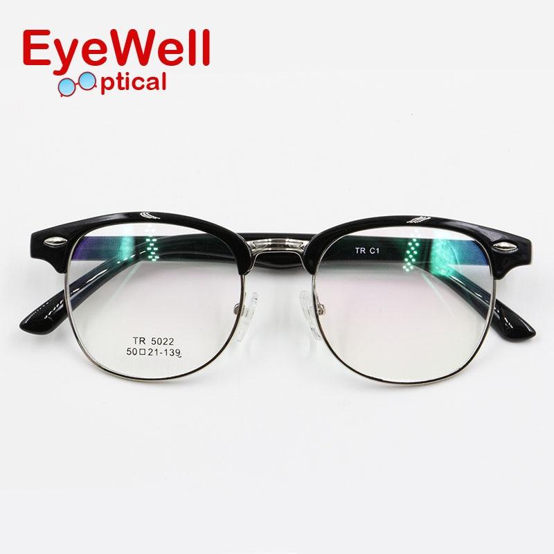 d286b45a867 Classic style retro round optical frame fashion blowline glasses TR90 full frame  eyeglasses high quality most