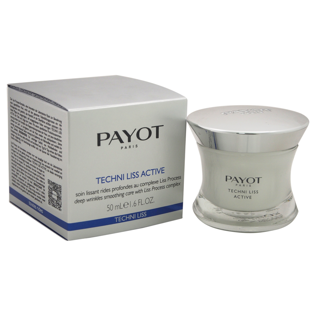 Techni Liss Active Deep Wrinkles Smoothing Care by Payot for Women - 1.6 oz Treatment payot techni liss