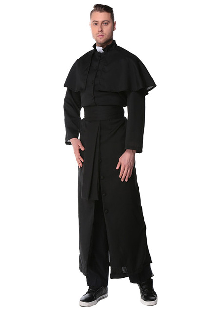 4e08b521b79cb US $22.1 33% OFF|Halloween Costumes Adult Mens Costume European Religious  Men Priest Christian Missionary Uniform Fancy Dress-in Holidays Costumes ...